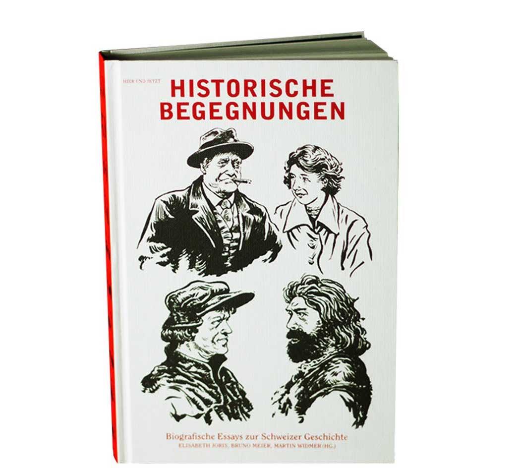 buchcover historische begegnungen